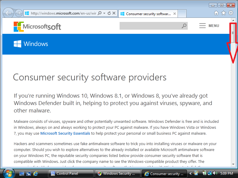 how to install antivirus software in windows 7